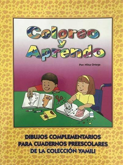 Book Coloreo y Aprendo