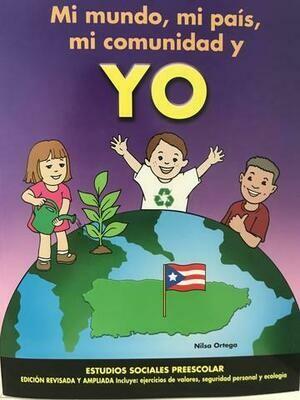 Book Mi Mundo, Mi País, Mi Comunidad y Yo