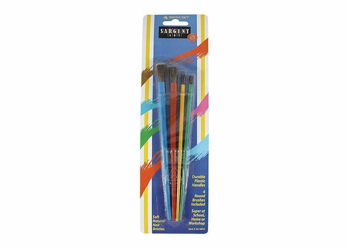 Brushes Natural Hair (pk-4)