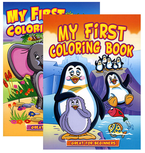 Coloring Book My First Jumbo