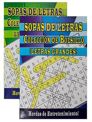 Activity Book Sopas de Letras