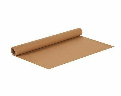 Kraft Postal Wrapping Paper, 3yds