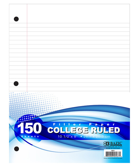 Paper Filler College Ruled [pk-150]
