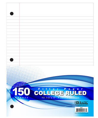 Paper Filler College Ruled [pk-150]