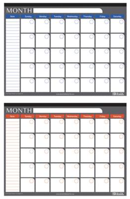 Calendar Deskpad Undated 17x22