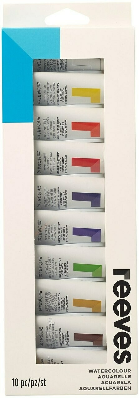 Watercolor Paint Reeves (set-10)