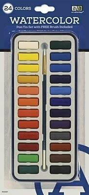 Watercolor Paint Art Advantage (24 colors)