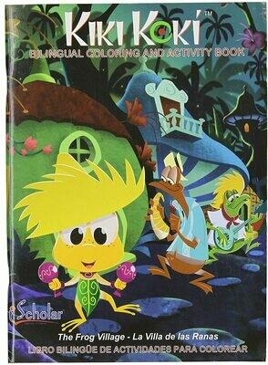 Coloring Book Kiki Koki