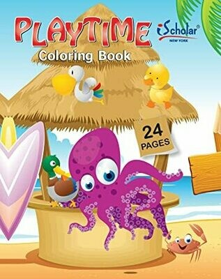 Coloring Book Little Scholar 24 pags.