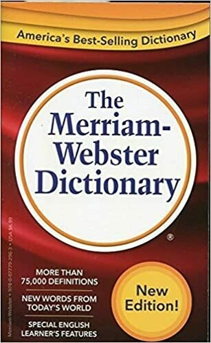 Merriam Webster English Dict.