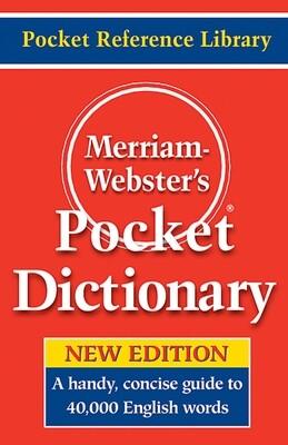 Merriam Webster English Pocket Dict.