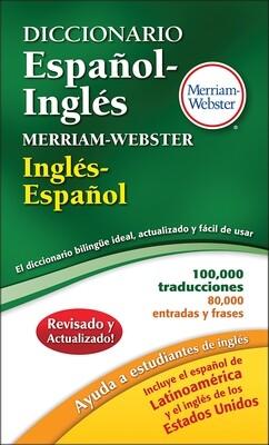 Merriam Webster Español-Ingles Dict.