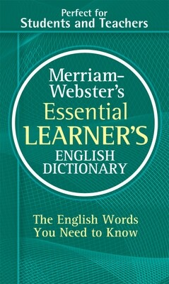 Merriam Webster Essential Learner's English Dict.