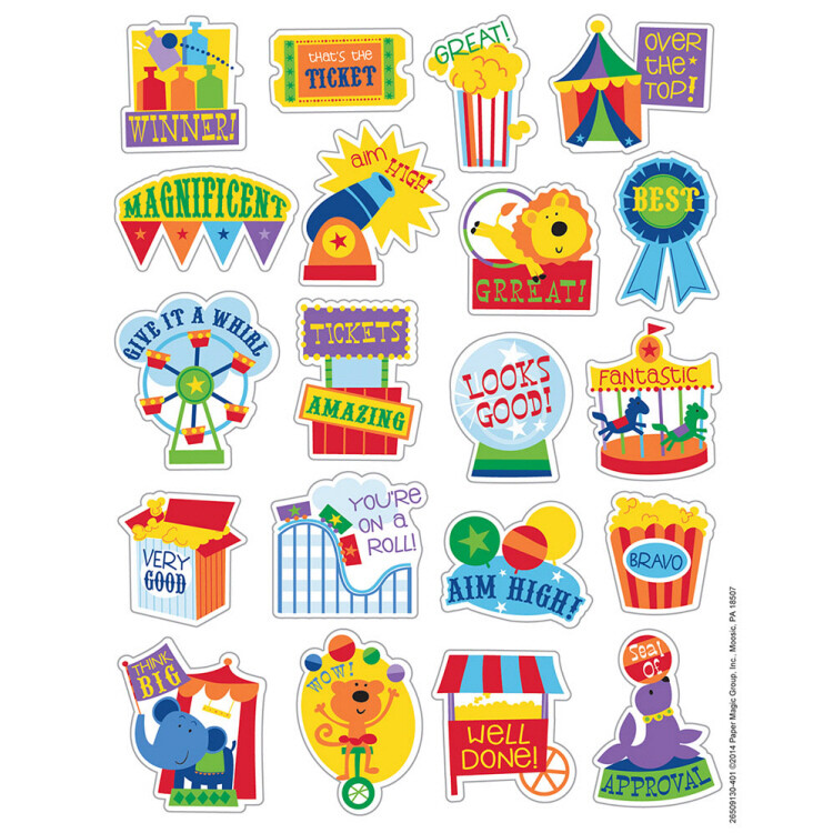 Stickers Scented Popcorn (pk-80)
