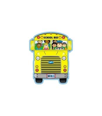 School Bus 2-Sided Decoration
