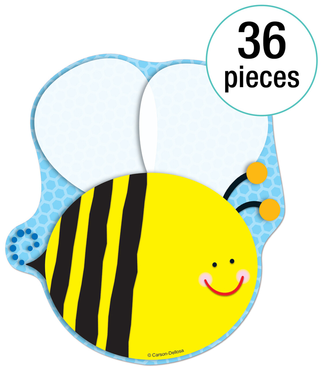 Cut Outs Bee (pk-36)