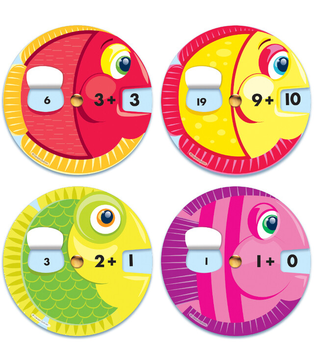 EZ-Spin Addition Facts (18 wheels)