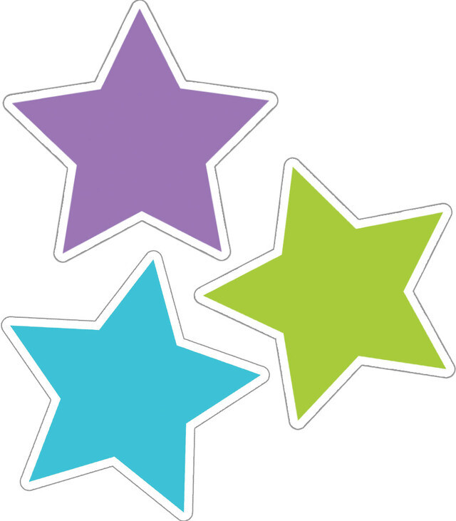 Accents Color Stars (pk-36)