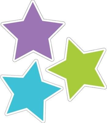 Accents Color Stars (pk-36)