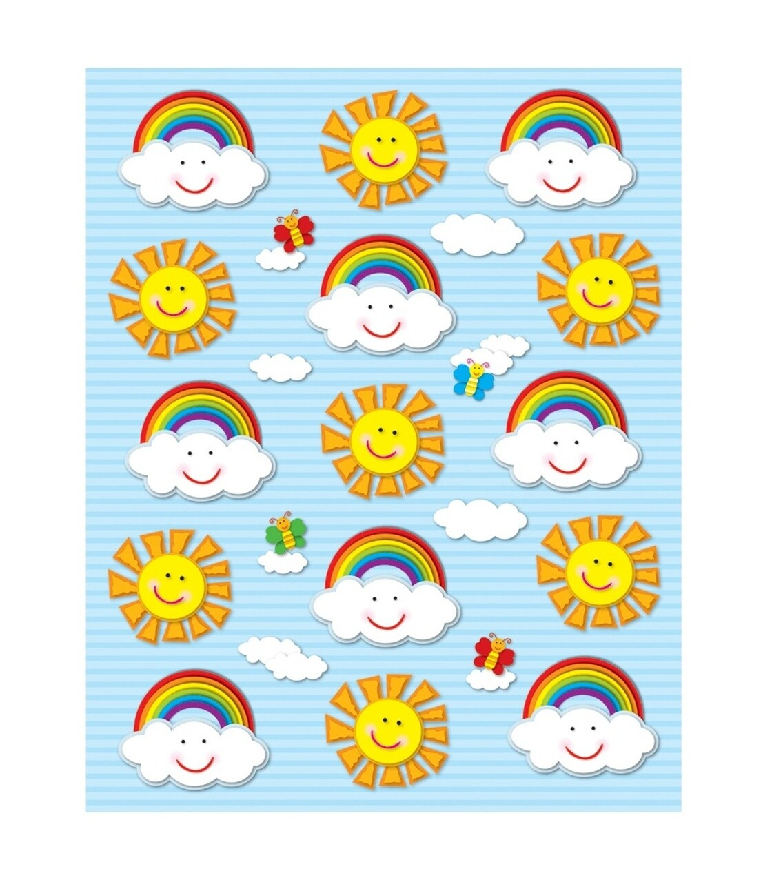 Stickers Suns & Rainbows [pk-90]