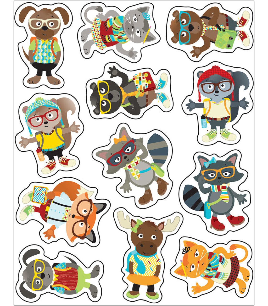 Stickers Hipster Shape (pk--72)