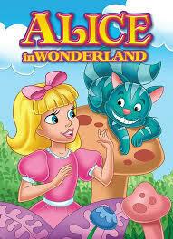 Coloring Book Alice in Wonderland