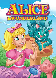 Coloring Book Alice in Wonderland