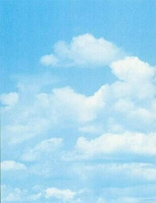 Computer Paper Clouds (pk-25)