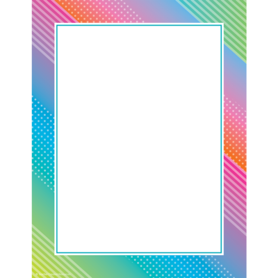 Computer Paper Colorful Vibes (pk-50)
