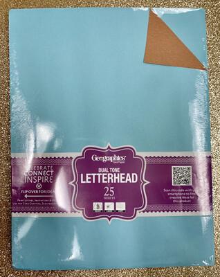 Paper Brown & Teal (pk-25)