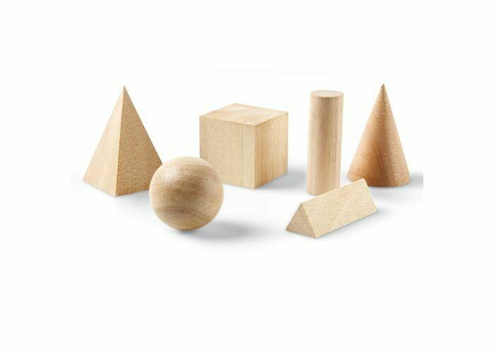 Geometric Solids Basic Wooden [st-6]