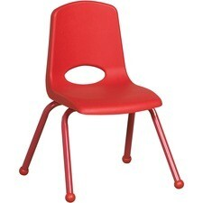 "ECR4KIDS 14"" Stack Chair, Matching Legs"