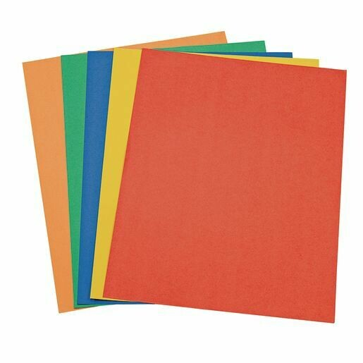 """Cartulina 22x28"""" Colores (bx-25)"""