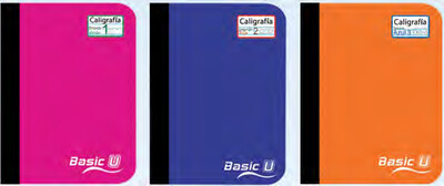 Libreta Basic-U Second Primary Escritura (200 pags)