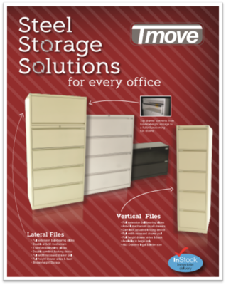 TruMove LATERAL File (2, 4 or 5 Drawers)