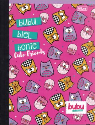 Notebook Lrg Bubu (200 pgs)