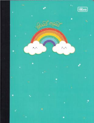 Notebook Lrg Rainbow (200 pgs)