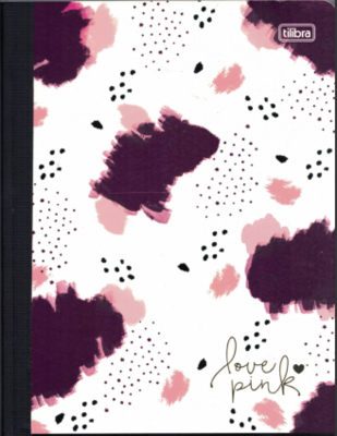 Notebook Lrg Love Pink (200 page)