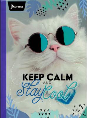 Notebook Cats Lrg. (200 pgs)