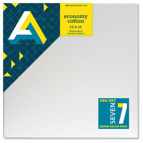 Canvas Stretch 12x12 Value 7-Pack