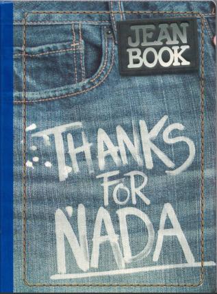 Notebook Jean Book Revolution Lrg. 200 pgs.