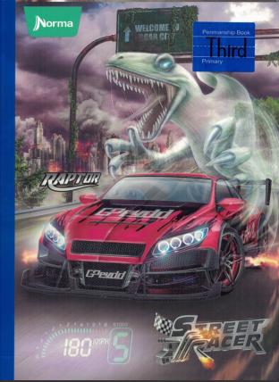 Notebook 3rd Street Racer (160 pgs)
