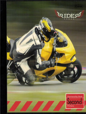 Notebook Rider Second