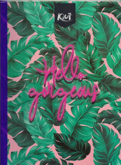 Notebook Jungle Kiut Lrg (200 pgs) Hello Gorgeous