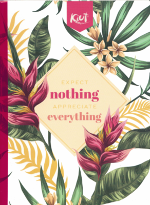 Notebook Jungle Kiut Lrg (200 pgs) Expect Nothing