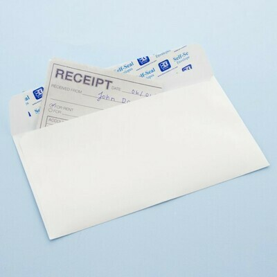 BAZIC / Envelope #6 3/4 Self-Seal White (100/Pack)