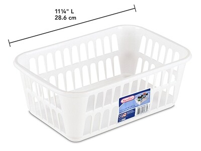 Storage Basket - White