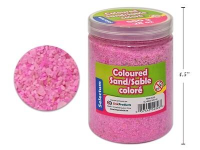 Coloured Sand, Pink, 800 GMS/ 28 OZ. SHAKER JAR