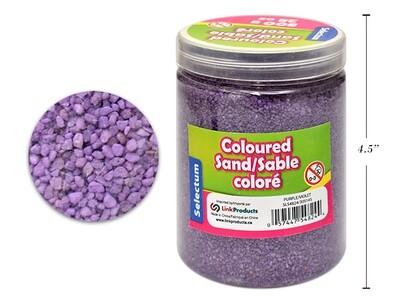 Coloured Sand, Purple, 800 GMS/ 28 OZ. SHAKER JAR
