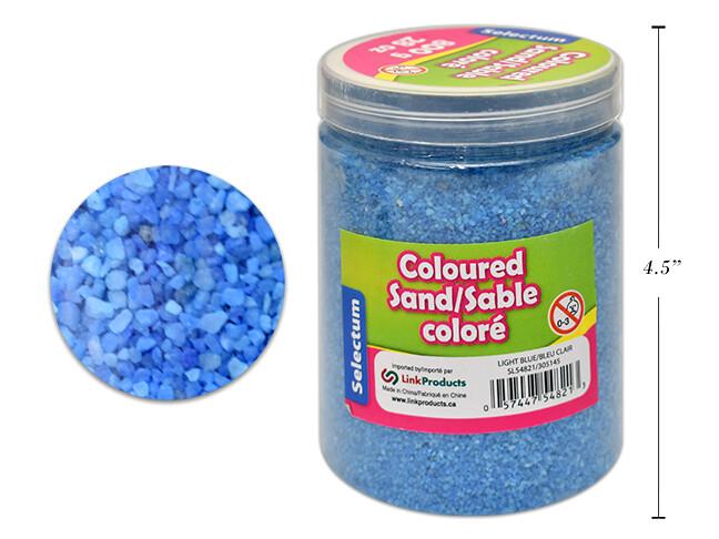 Coloured Sand, Light Blue, 800 GMS/28 OZ. SHAKER JAR